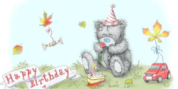 Поздравления бабушке на день рождения карандашом