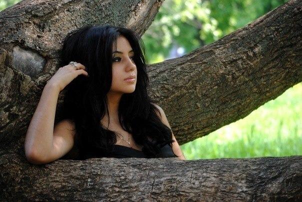 фото красивых девушек брюнеток с длинными волосами брюнетки