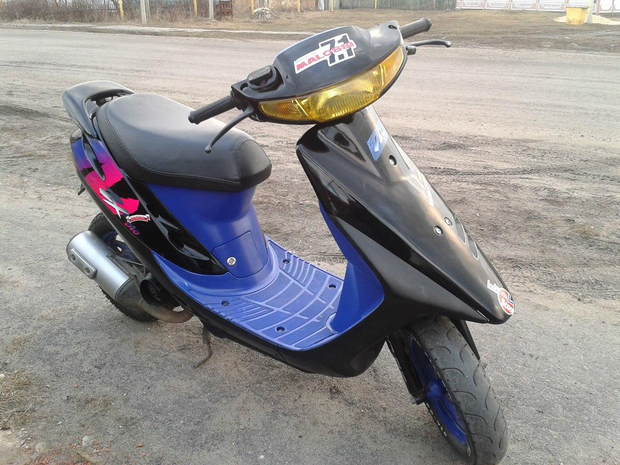 Скутер Honda Dio AF 28 SR - фото, описание, технические