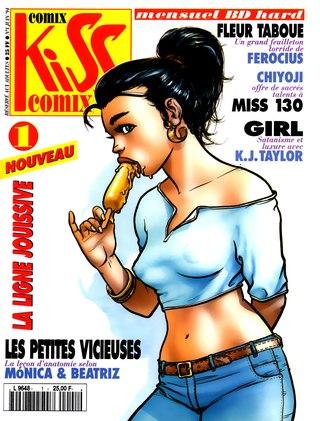 Kiss Comix 001