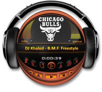 CHICAGO BULLS Media Player