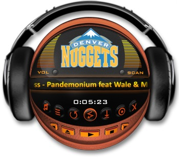 DENVER NUGGETS Media Player
