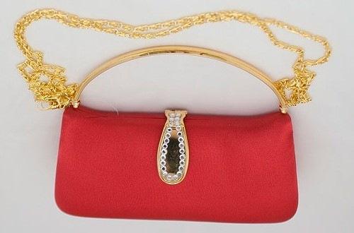 вязаные сумки женские: самодельные клатчи.