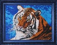 """Набор для вышивания  """"Тигр """" 553(Б). 1-7 Дня.  Артикул.  553. Обычно доставляется в течение."""