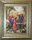 Набор для вышивания бисером КРАСА И ТВОРЧЕСТВО арт.10411 Святое семейство.