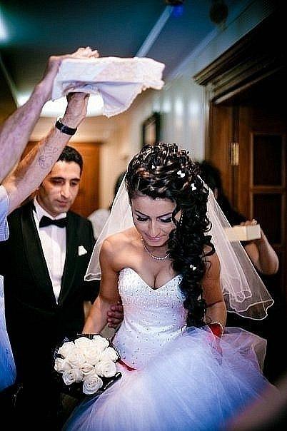 азербайджанские свадебные прически