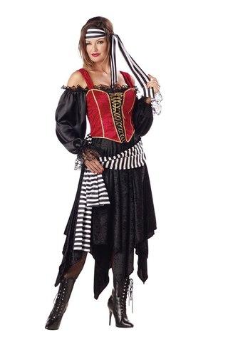 """Костюм пиратки женский - Pirate Lady: продажа, цена в Санкт-Петербурге. карнавальные костюмы женские от ООО """"Рузине"""" - 6644629"""