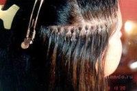 Как правильно нарастить волосы фото?