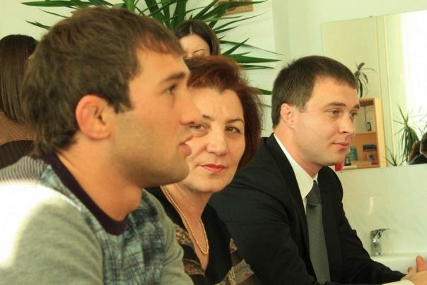 Бесик Кудухов, Маирбек Хубаев и Алла Хаблиева