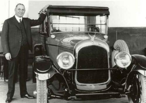 Уолтер Крайслер, засновник корпорації «Крайслер»