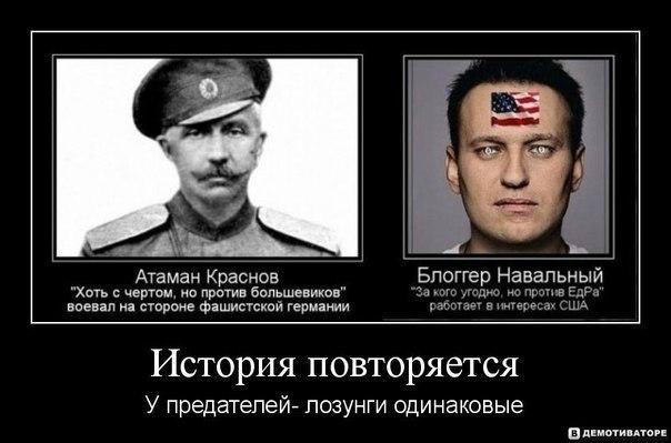Демотиватор навальный сша нато