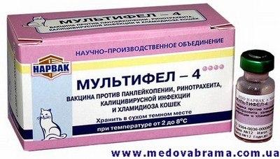 Нужна вакцина Мультифел-4