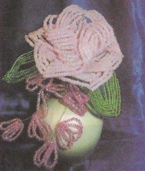 Бисероплетение для начинающих роза - Делаем фенечки своими руками.