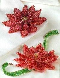 Красная лилия из бисера Подсолнух Подсолнухи ассоциируются с концом лета или началом осени, символизируют пору сбора...