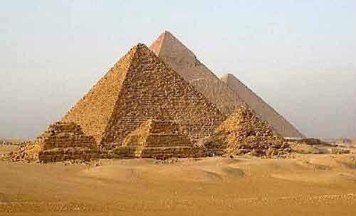 Дорого в комплексах пирамид