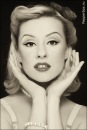 В сороковых годах ретро-макияж провозгласил своим стилем естественность...