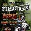 FATALITY FEST 3 - 15.04.2012 - KATALEPSY, 7 H.TARGET and more
