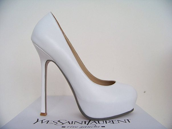 Платформа 3... Туфли. от известного модного дома Yves Saint Laurent.