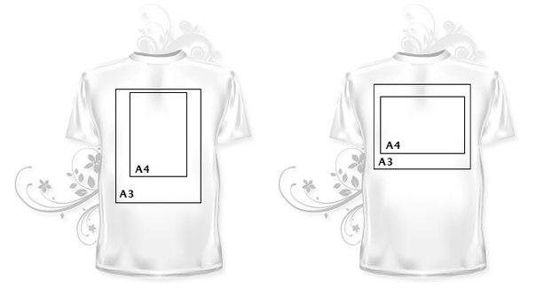 печать футболок а3