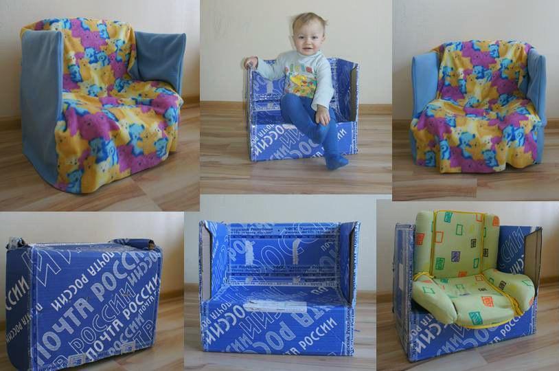 Диванчик для ребенка 3 лет своими руками 77