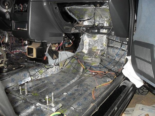Шумоизоляция автомобиля ваз-2112 своими руками