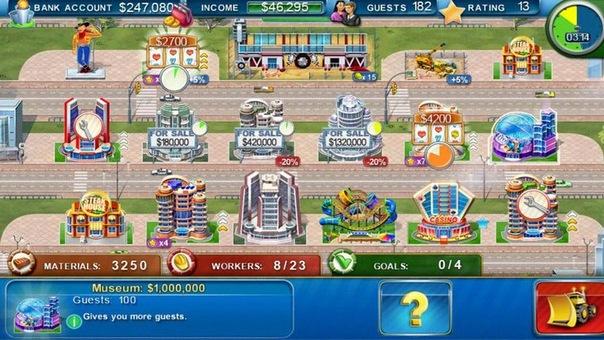 Скриншоты android игры Магнат отелей. . Лас-Вегас.