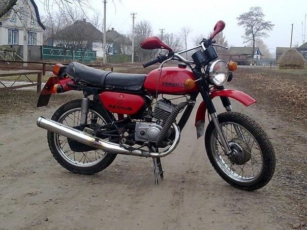 Minsk 125 мотоцикл.