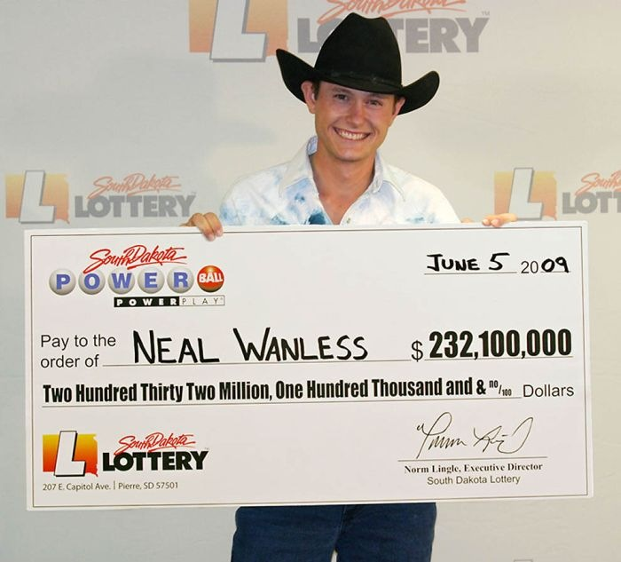 Огромные выигрыши в лотерею