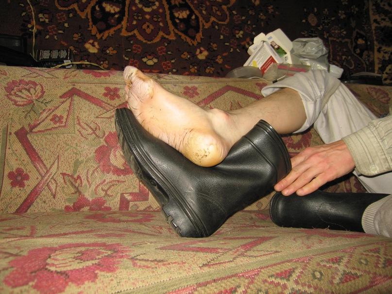 Можно ли ОТЖАТЬ резиновые сапоги, если очень понравились ? Y_15a51beb
