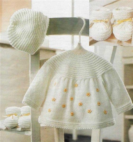 Описание: вязание спицами для детей. платье, сарафан для девочки.