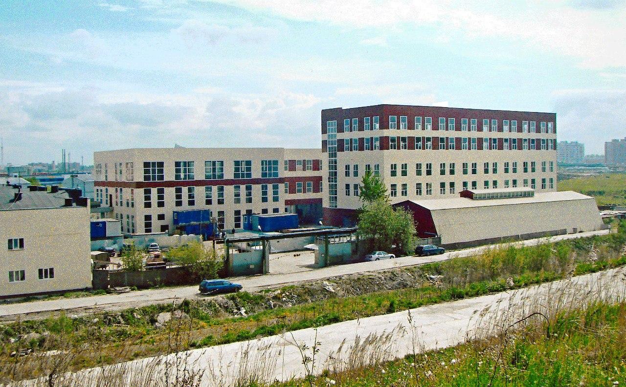 Новая площадка с цеховыми корпусами на пр. Оптиков.