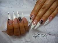 Острые ногти наращивание ногтей - фото 765.