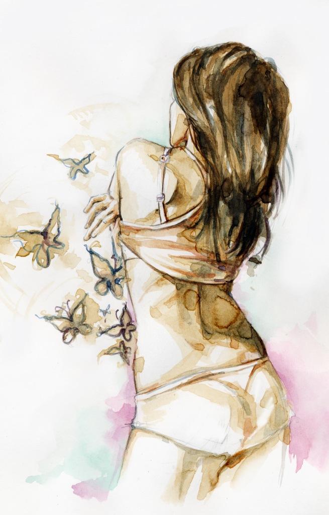 Картинки по запросу бабочки в животе красивые картинки
