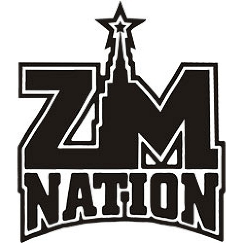 Наклейка ZM Nation - Наклейки на авто, винил на стекло.