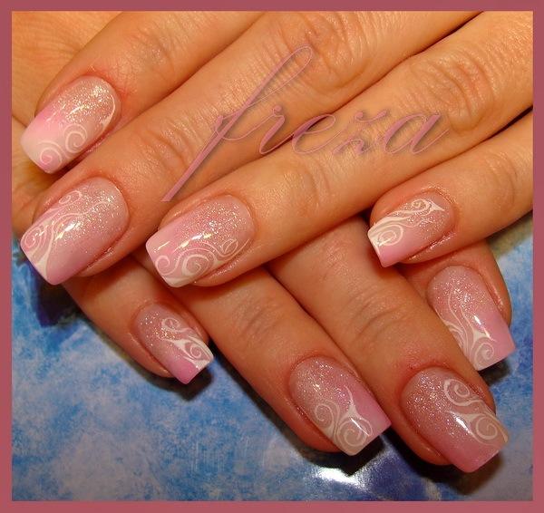 Наращивание ногтей дизайн короткие