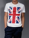 Британский флаг - Магазин прикольных сумок, футболок, Британский флаг...