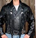 Косуха Fringe Motorcycle Leather Jacket.