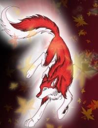 волк фото аниме