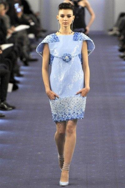 Fashion.  Неделя высокой моды в Париже: Chanel (весна 2012 Couture)