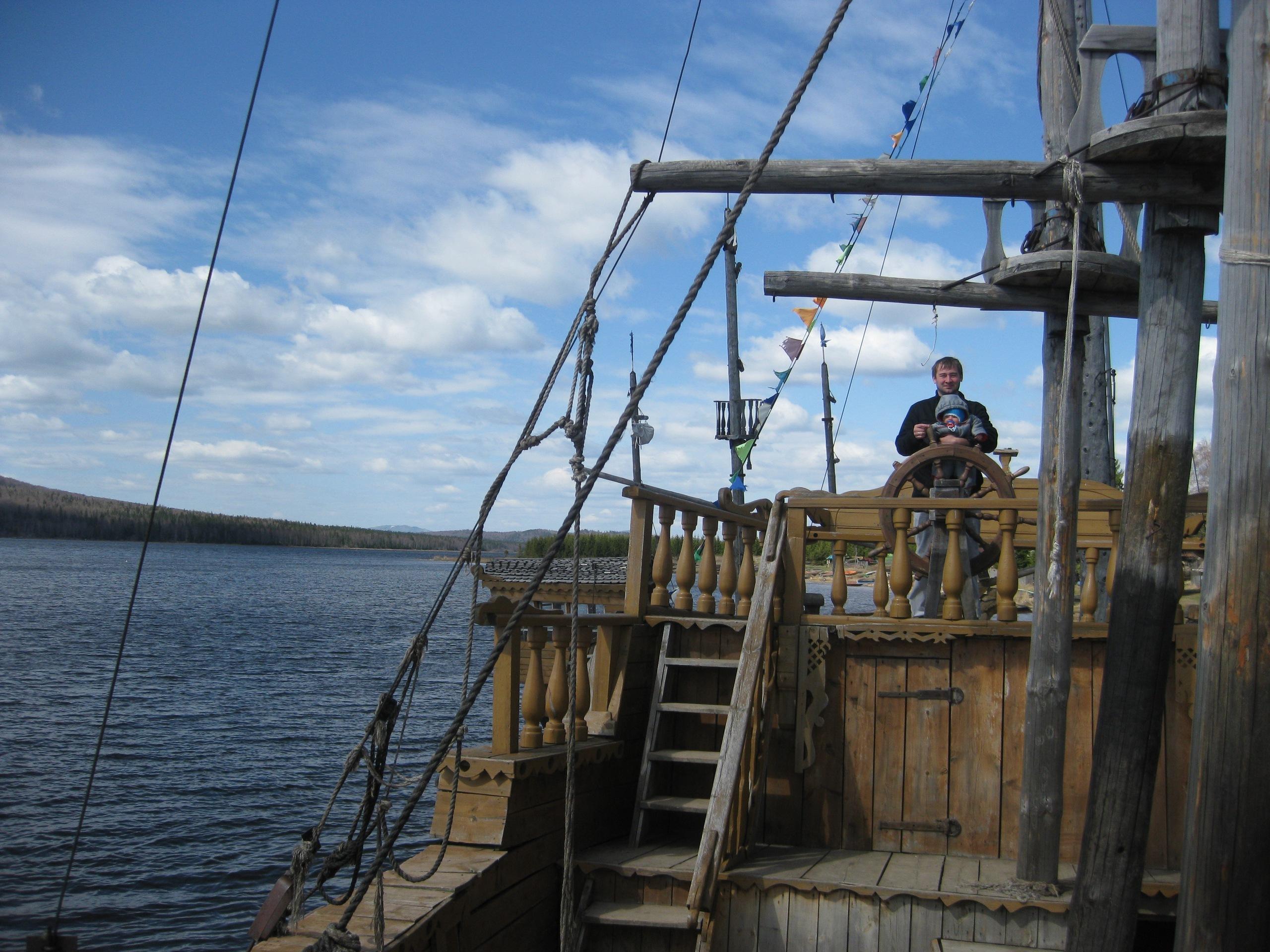 Поселок Зюраткуль. Китова Пристань, 2011