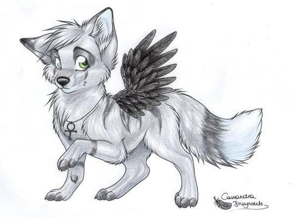 Нарисованные волки