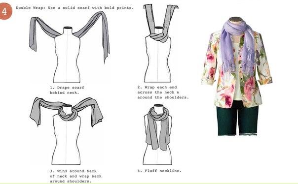 Шесть методов как завязать шарф!