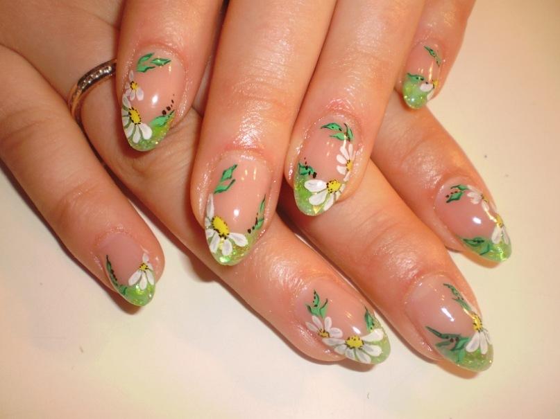 Весенние дизайны ногтей фото