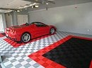 Never Has Flooring Induced So Much Garage Envy A whole new level of garage gear...