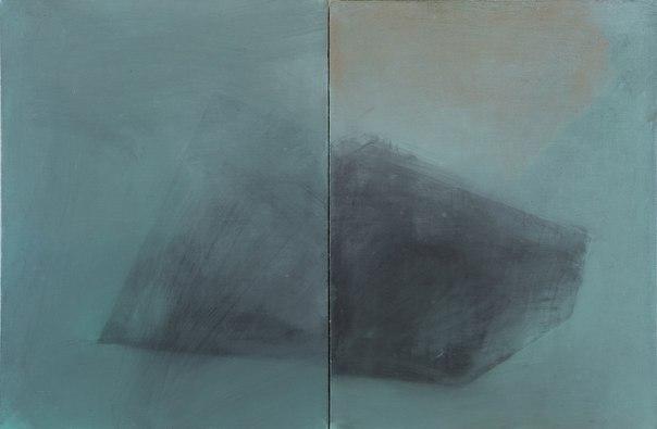 Антон Логов, ГЕО, диптих, 2011, полотно, олія