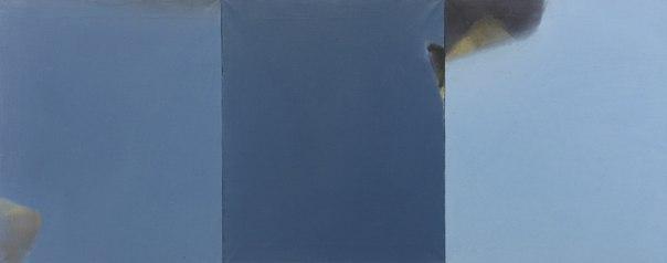 Антон Логов, СЕРПЕНЬ, із серії Сонце,триптих, 2011, полотно, олія