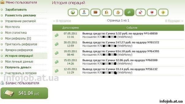Заработок в интернете 100 рублей