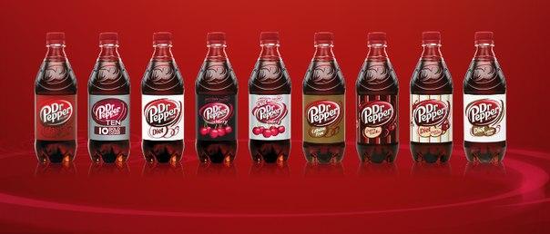Возвращение на полки магазинов России напитка Dr Pepper.
