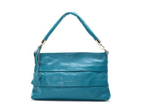 Модели сумок. мягкая кожа.  Голубой4142Хаки. следи.  Застежка сумки.