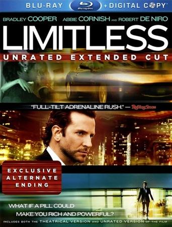 Области тьмы [Расширенная версия]  Limitless [Unrated Extended Cut] (2011) BDRip 720р